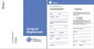 Bild des Mitgliedsaufnahmeantrages des netzwerks mit Link zur PDF Datei