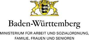 Logo des Ministeriums für Arbeit und Sozialaordnung, Familien, Frauen und Senioren