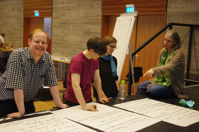 Open Space 2016 - Arbeitsgruppe