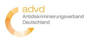 Logo des advd Antidiskriminierungsverbandes Deutschland