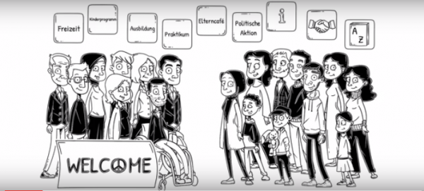 Screenshot des Erklärvideos