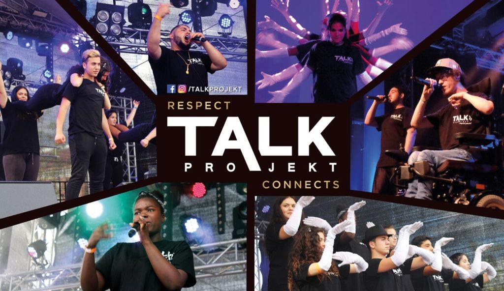 Pressefoto des Prokelts TALK - Kollage