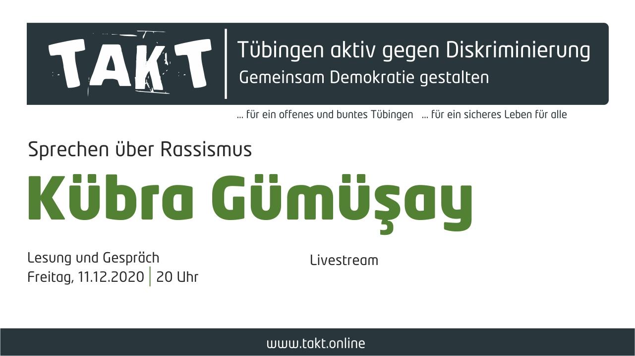 Veranstaltung Kübra Gümüsay