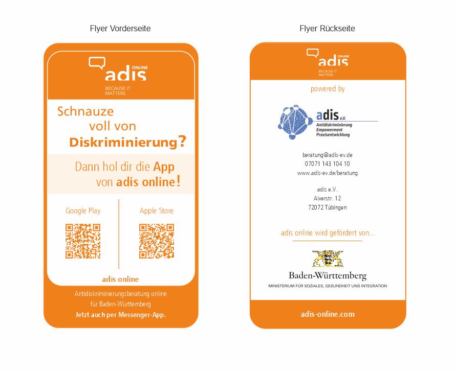 Flyer adis online